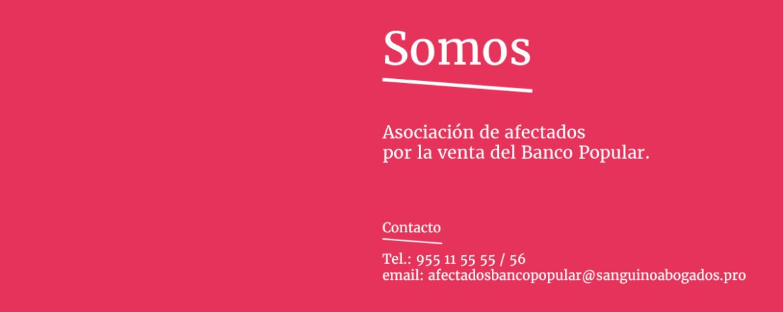 Sanguino Abogados defenderá a la Asociación de Afectados por la Venta del Banco Popular