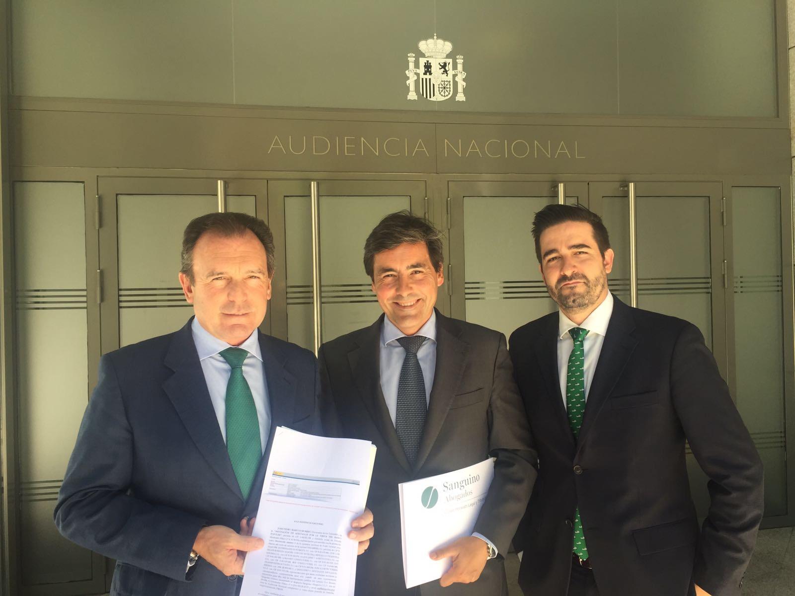 Sanguino Abogados solicita a la Audiencia Nacional que suspenda cautelarmente los préstamos con los que se compraron acciones del Banco Popular