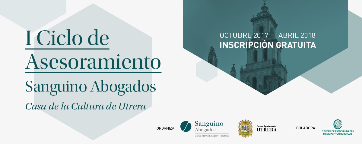 Conferencias Sanguino Abogados