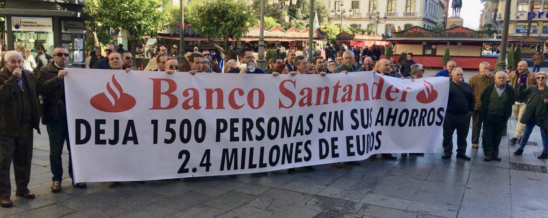 Admitida a trámite la demanda de la cooperativa de Encinas Reales contra Banco Santander tras perder sus socios 2,4 millones de euros