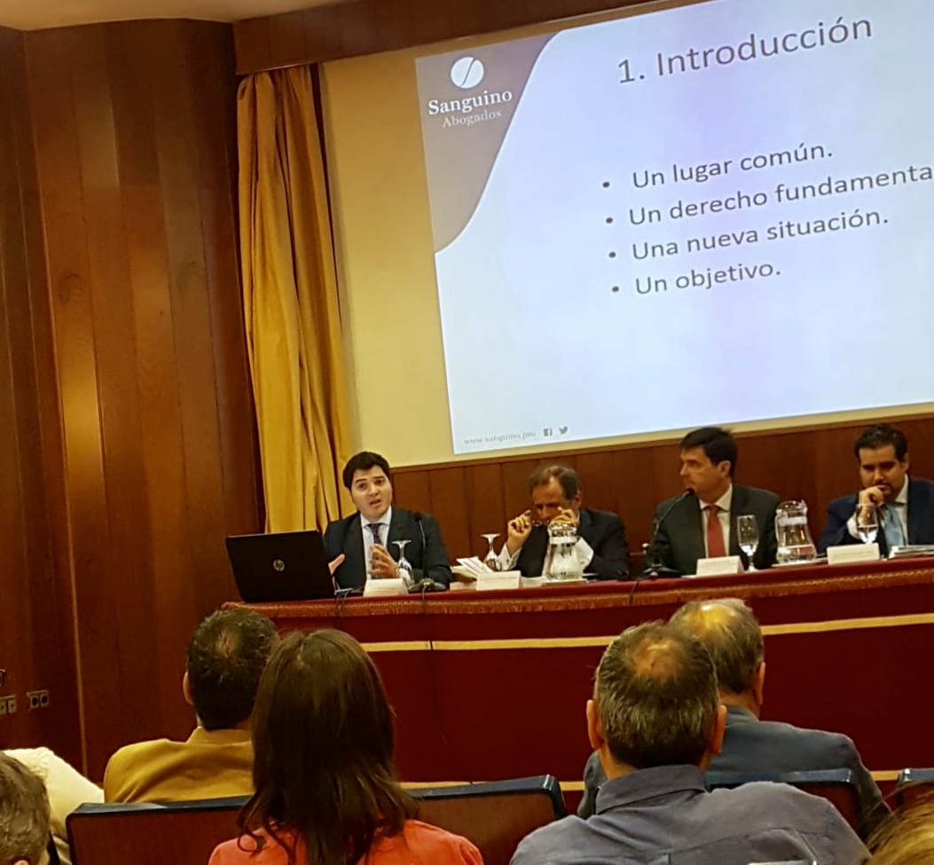 Octavio Gil analiza el nuevo Reglamento de Protección de Datos