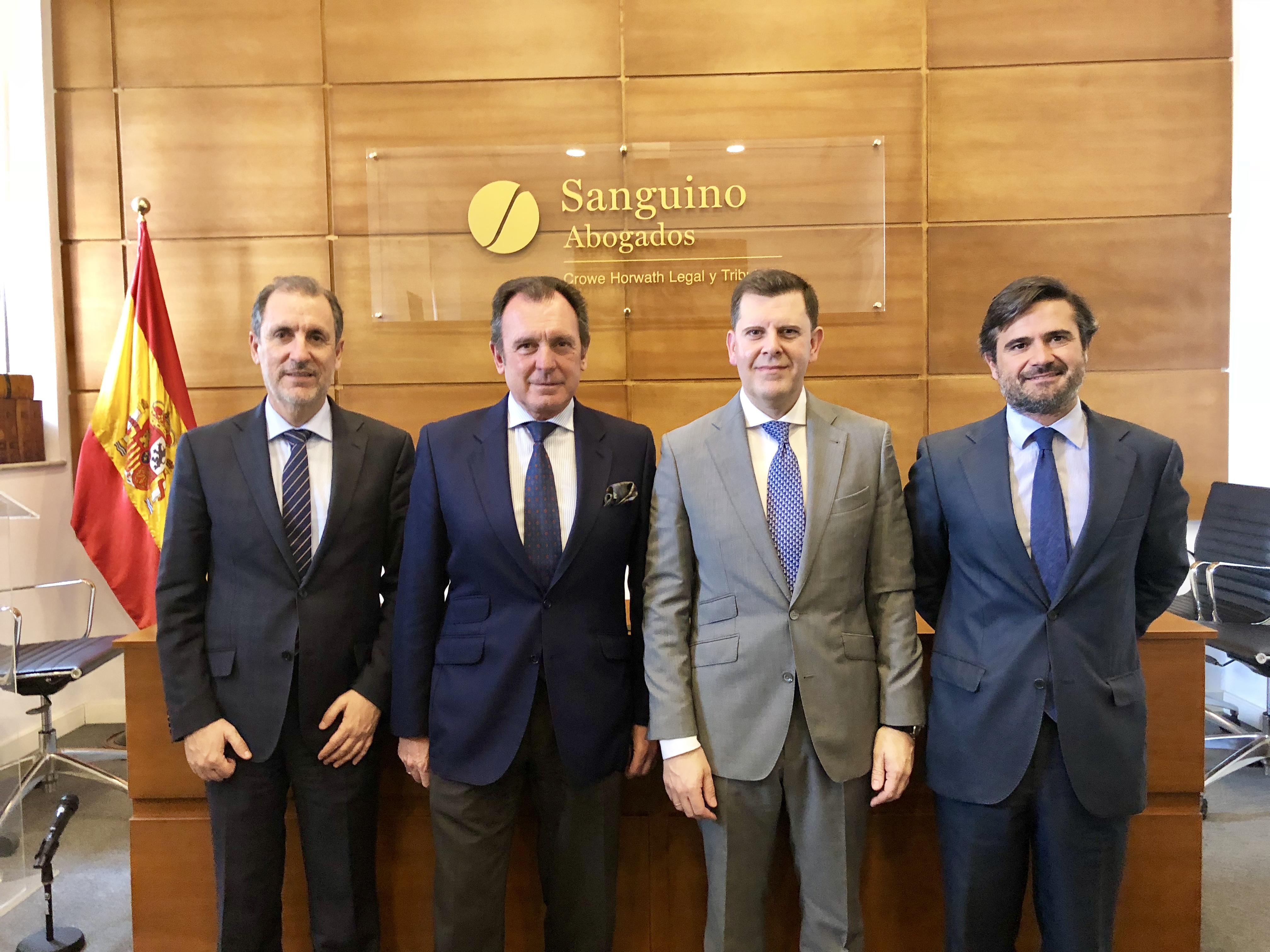 Sanguino Abogados y Renta 4 Banco prestarán de forma conjunta servicios de asesoramiento e inversión