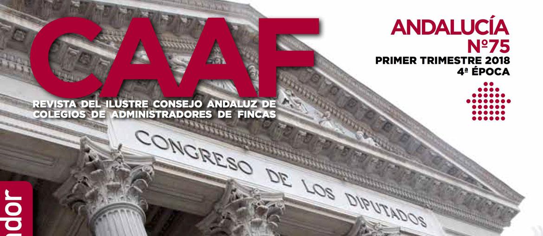 Vanessa Villegas participa en la revista de los Administradores de Fincas