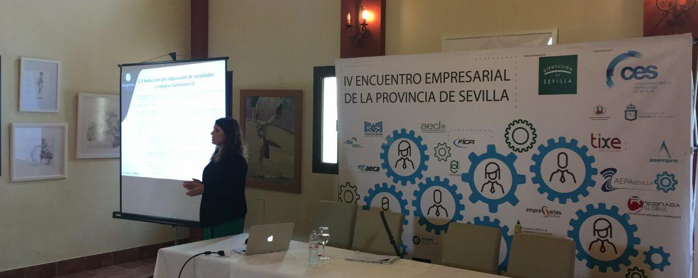 Sanguino Abogados participa como experto en el IV Encuentro Empresarial en la Provincia de Sevilla