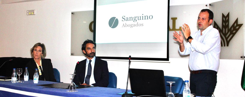 Sanguino Abogados presenta en Freshuelva la aplicación de la tecnología blockchain en el sector agroalimentario