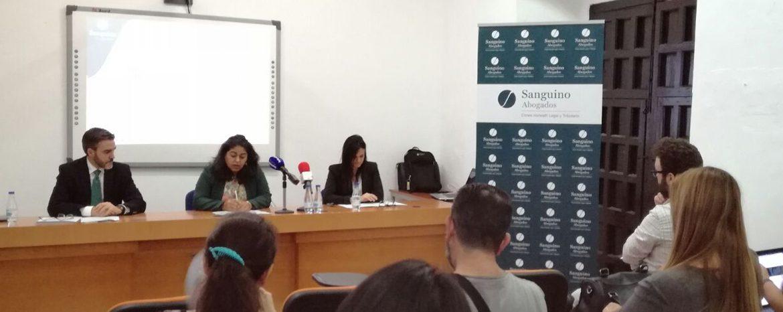 El Ayuntamiento de Utrera y Sanguino Abogados inauguran el I Ciclo de Asesoramiento Jurídico