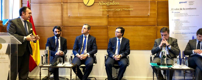 Sanguino Abogados y Gesvalt reúnen en Sevilla a 50 empresas e inversores en una jornada especializada en SOCIMI