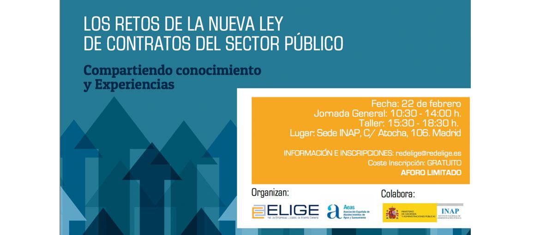 Sanguino Abogados analiza este jueves en Madrid las nueva Ley de Contratos del Sector Público