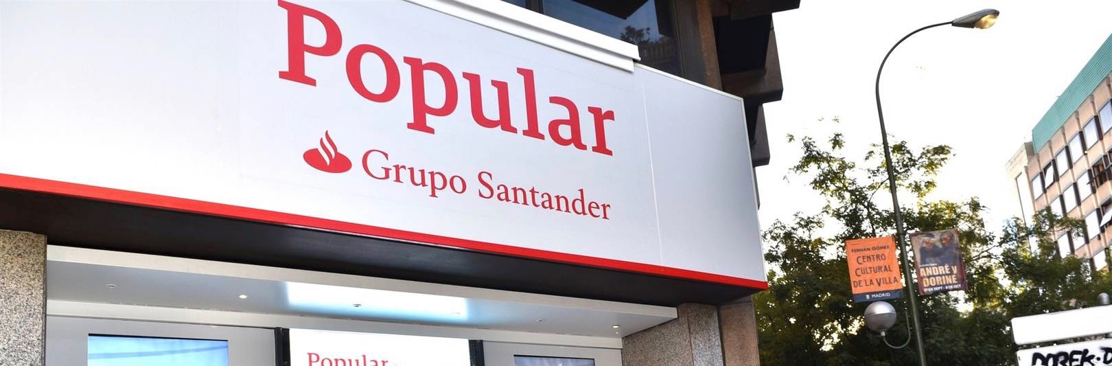 Sanguino Abogados amplía contra Banco Santander su denuncia colectiva por la venta del Banco Popular