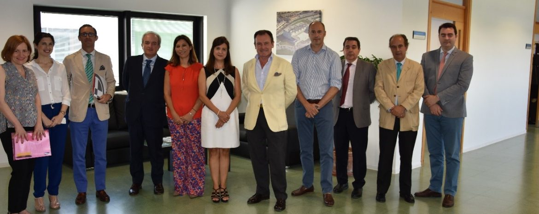 Sanguino Abogados visita las instalaciones del Campus CEU Andalucía tras su acuerdo de colaboración