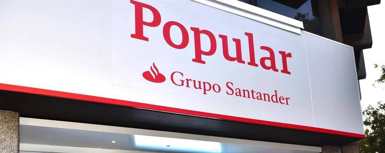 El Banco Santander pasa a ser parte investigada en el proceso judicial que se sigue por la venta del Banco Popular