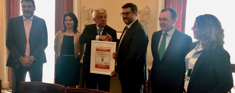 El Ayuntamiento de Utrera obtiene el certificado de Transparencia de la Cámara de Comercio con la norma desarrollada por Sanguino Abogados