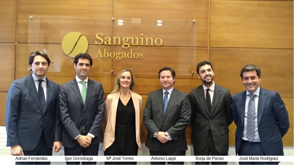 "Sanguino Abogados celebró una jornada sobre los Fondos de ""Capital Riesgo"""