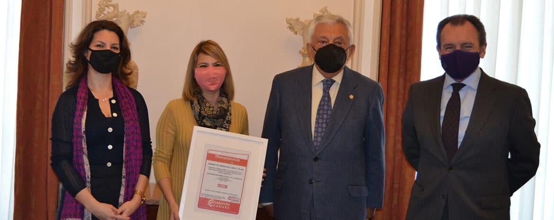 La Cámara de Comercio de Sevilla y Sanguino Abogados entregan el Certificado de Transparencia a CCOO Andalucía